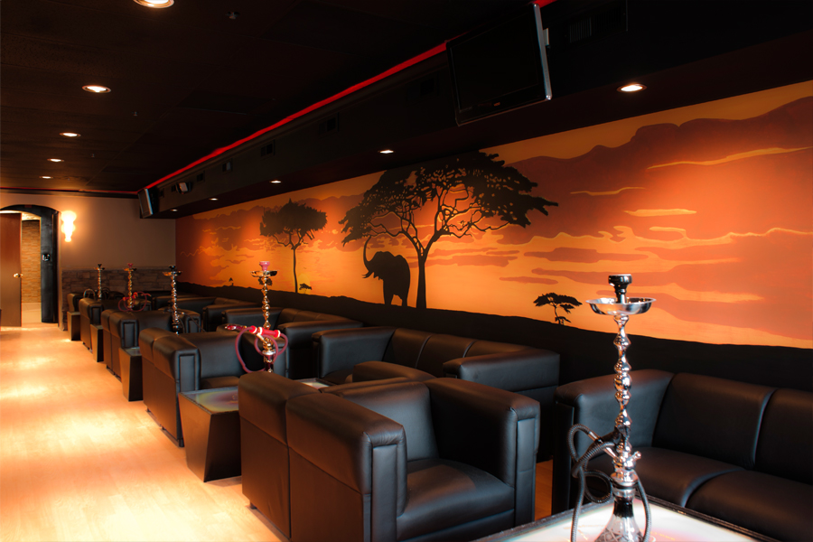 Chill out hookah lounge listing arab america for Best bar ideas in the world