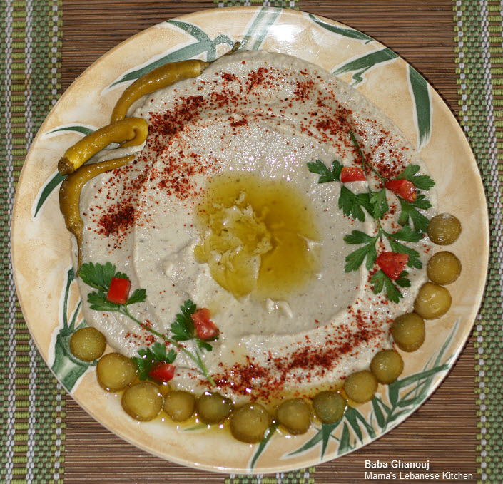 The best baba ghanouj recipe ever for Arabic cuisine food