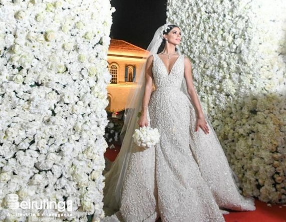 Rima Fakih S Elaborate Star Studded Lebanese Wedding