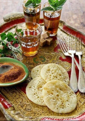 Serving tea and bread the maghrebi way for Algerian cuisine youtube